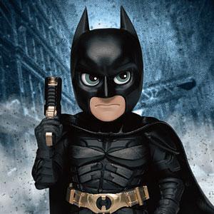 ミニ・エッグアタック 『ダークナイト・トリロジー』シリーズ1 バットマン(グラップネル・ガン付き版)
