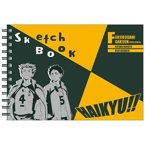 【特典】ハイキュー!! 図案スケッチブック 木兎&赤葦