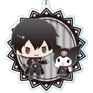 ソードアート・オンライン×サンリオキャラクターズ デカキーホルダー キリト×クロミ