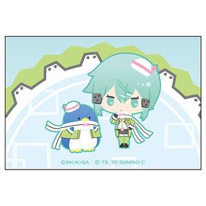 ソードアート・オンライン×サンリオキャラクターズ スクエアマグネット シノン×タキシードサム