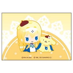 ソードアート・オンライン×サンリオキャラクターズ スクエアマグネット アリス×ポムポムプリン
