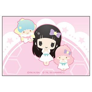 ソードアート・オンライン×サンリオキャラクターズ スクエアマグネット ユイ×リトルツインスターズ(キキ&ララ)