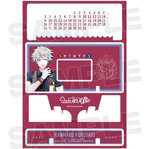 うたの☆プリンスさまっ♪ 黒崎蘭丸 卓上アクリル万年カレンダー