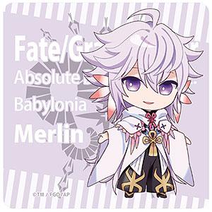Fate/Grand Order -絶対魔獣戦線バビロニア- ラバーマットコースター マーリン