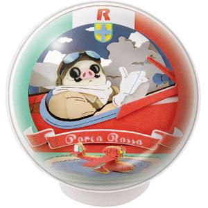 ペーパーシアター -ボール- スタジオジブリ作品 紅の豚 PTB-12 飛行艇乗りポルコ・ロッソ