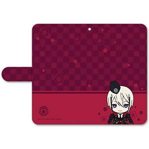 刀剣乱舞-ONLINE- ぽてだん! 手帳型モバイルフォンケース(フリーサイズ)71:日向正宗