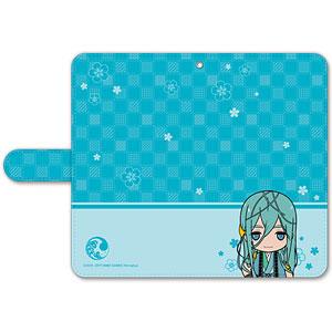 刀剣乱舞-ONLINE- ぽてだん! 手帳型モバイルフォンケース(フリーサイズ)74:千代金丸