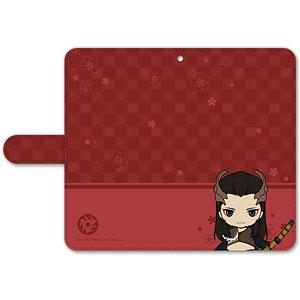 刀剣乱舞-ONLINE- ぽてだん! 手帳型モバイルフォンケース(フリーサイズ)77:祢々切丸