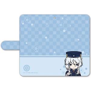 刀剣乱舞-ONLINE- ぽてだん! 手帳型モバイルフォンケース(フリーサイズ)78:白山吉光