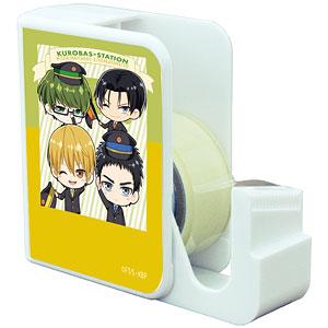 キャラテープカッター「黒子のバスケ」03/黄瀬&笠松&緑間&高尾(ミニキャラ)