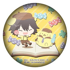 文豪ストレイドッグス×サンリオキャラクターズ ガラスマグネット 江戸川乱歩×ポムポムプリン
