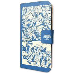 手帳型スマホケース(iPhone6/6s/7/8兼用)「トランスフォーマー」02/アメコミデザイン