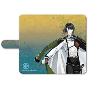 刀剣乱舞-ONLINE- 手帳型モバイルフォンケース(フリーサイズ)84:松井江