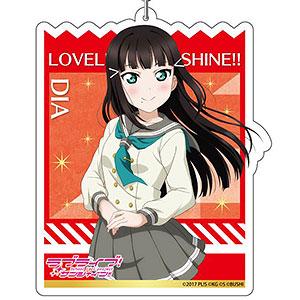 ラブライブ!スクールアイドルフェスティバルALL STARS デカキーホルダー 黒澤ダイヤ 冬制服ver