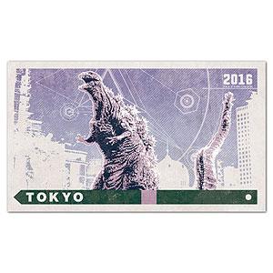 ゴジラ トラベルステッカー (8)東京/ゴジラ第四形態[2016]