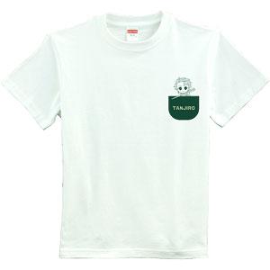 Tシャツ「鬼滅の刃」03/TANJIRO(Mサイズ)(フォトきゃら)