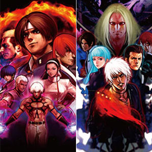 THE KING OF FIGHTERS ポストカードセットVol.1