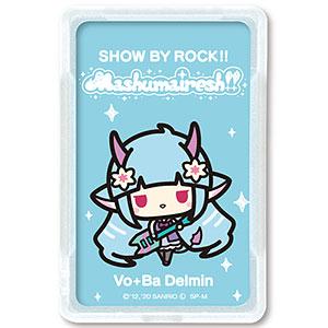 SHOW BY ROCK!! ましゅまいれっしゅ!! ピーカ+ICカードホルダー デルミン