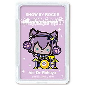 SHOW BY ROCK!! ましゅまいれっしゅ!! ピーカ+ICカードホルダー ルフユ