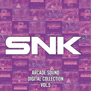 CD SNK ARCADE SOUND DIGITAL COLLECTION Vol.5