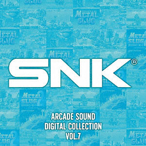 CD SNK ARCADE SOUND DIGITAL COLLECTION Vol.7