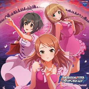 CD THE IDOLM@STER CINDERELLA MASTER 3chord for the Dance!