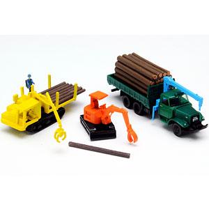 ザ・トラックコレクション 原木運搬セット