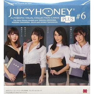 AVC ジューシーハニーコレクションカード PLUS #6 霧島さくら 桜羽のどか JULIA 高橋しょう子 アダルトトレカ 16パック入りBOX