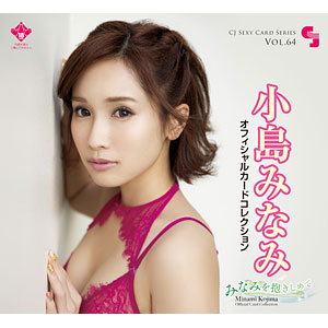 CJ SEXY CARD SERIES VOL.64 小島みなみ OFFICIAL CARD COLLECTION ~みなみを抱きしめて~ 12パック入りBOX