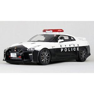 1/18 Nissan GT-R (R35) 2018 栃木県警察高速道路交通警察隊車両