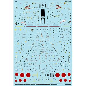 アシタのデカール 1/144 航空自衛隊 RF-4E ファントムII「コーションデータ -洋上迷彩-」