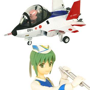 LDPシリーズ 先進技術実証機 X-2 自衛官フィギュア付き 2(山口美南 3等空尉 音楽まつり女子演技服) プラモデル