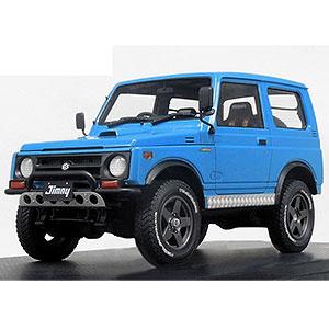 1/18 SUZUKI Jimny (JA11) Lift Up Blue