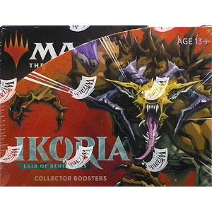マジック:ザ・ギャザリング イコリア:巨獣の棲処 コレクター・ブースターパック 英語版 12パック入りBOX