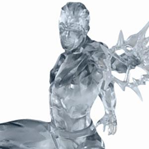 マーベルコミック/ アイスマン 1/10 バトルジオラマシリーズ アートスケール スタチュー