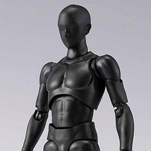 S.H.Figuarts ボディくん DX SET 2 (Solid black Color Ver.)