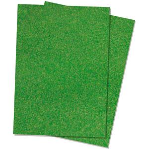 ジオラマシート 草地・新緑 (A4サイズ2枚入)