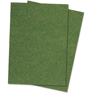 ジオラマシート 草地・オリーブ (A4サイズ2枚入)