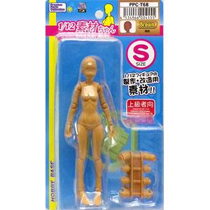 プレミアムパーツコレクション 関節技EX 1/12素材ちゃん Sサイズ 褐色