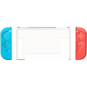 プレミアム プロテクトカバー セパレート クリアブルー×クリアレッド (Switch用)