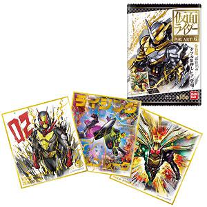 仮面ライダー色紙ART6 10個入りBOX (食玩)