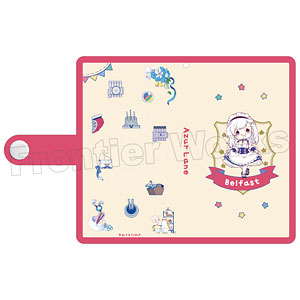 TVアニメ『アズールレーン』 ミニキャラ手帳型スマートフォンケース(ベルファスト)
