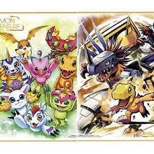 デジモン色紙ART 10個入りBOX (食玩)