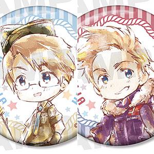 ヘタリア World★Stars トレーディング デフォルメAni-Art 缶バッジ ver.B 8個入りBOX