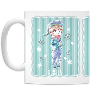 ヘタリア World★Stars ロシア&中国 Marine ver. デフォルメAni-Art マグカップ