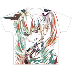 ガールズ&パンツァー 最終章 アンチョビ Ani-Art フルグラフィックTシャツ ユニセックス S