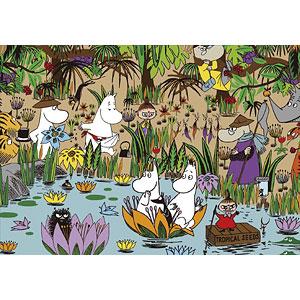 ジグソーパズル ムーミン ジャングル・ムーミンバレー 500ピース (05-1029)
