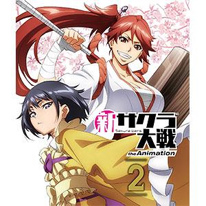 BD 新サクラ大戦 the Animation 第2巻 Blu-ray通常版