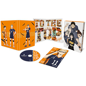 BD ハイキュー!! TO THE TOP Vol.3 Blu-ray 初回生産限定版