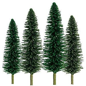 Nスケール ヒマラヤスギ サイズ:高さ約5cm&約10cm(36本入り)